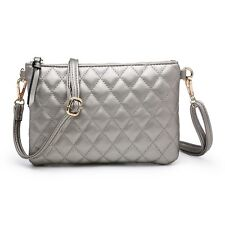 2c6950f37e item 1 Woman Small synthetic leather Diamond-Quilted Messenger Cross Body  Shoulder Bag -Woman Small synthetic leather Diamond-Quilted Messenger Cross  Body ...