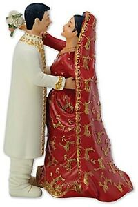 indian wedding cake toppers traditional asian indian and groom wedding cake 5084