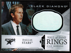 2019-20-Black-Diamond-Hall-of-Fame-Rings-Mike-Modano-Stars-ref-39001