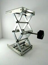 Vwr Stainless Steel Lab Jack Stand Table Lift Laboratory Jiffy Jack 5 X 612