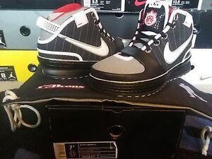 253075ddac4 Details about Nike Air Zoom Max LeBron James VI 6 PE Business Biz Black  White Grey 346526 013