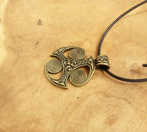 Anhänger Triskele Spirale des Lebens Vikings Wikinger Götter Runen Thor K20.21
