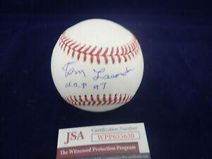 Tommy-034-Tom-034-Lasorda-LA-Dodgers-Signed-OML-Baseball-W-HOF-97-JSA-WPP655630