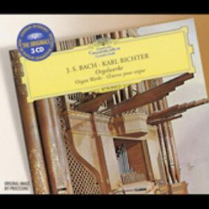 Karl-Richter-J-S-B-Bach-J-S-Organ-Works-New-CD-UK-Import