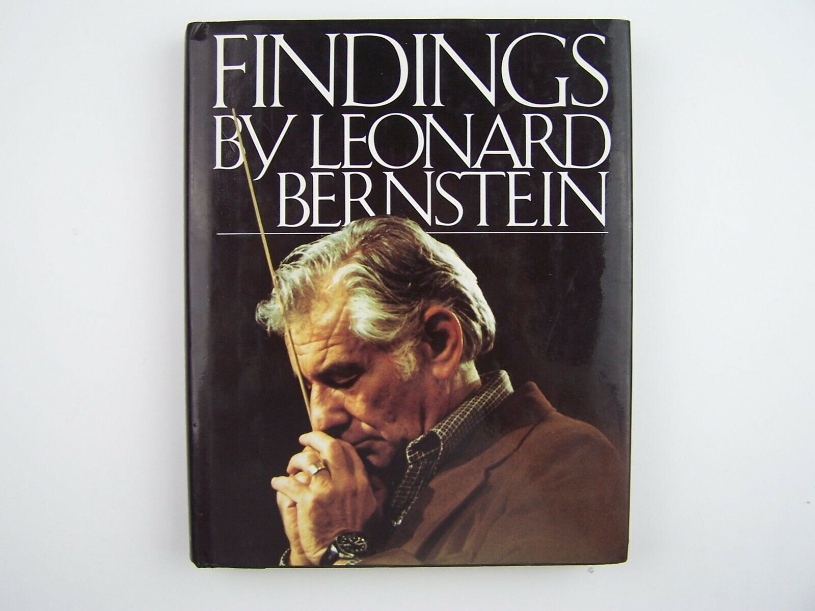 Leonard Bernstein Findings Hardcover 1982 First Edition