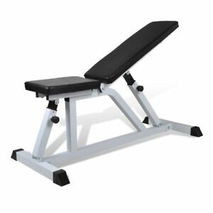 vidaXL-Fitness-Workout-Bench-Exercise-Gym-Equipment-Weightlifting-Machine-Rack