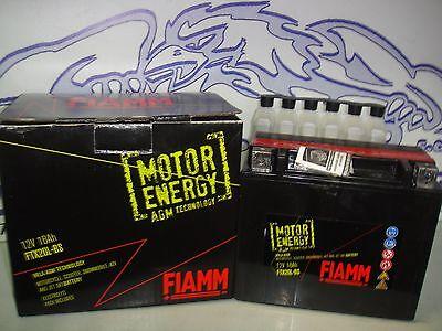 BATTERIA FIAMM FBTX20L-BS=YTX20L-BS KYMCO MXU 2X4 4X4 500 2005 2006 2007 2008