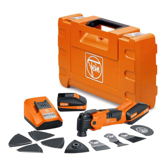 Fein Select Plus 18v Li-ion cordless MultiMaster Multitool AFMM18QSL Body Only