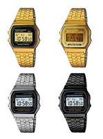 Metal Retro Unisex Digital Retro Classic LCD  Watch Vintage Style