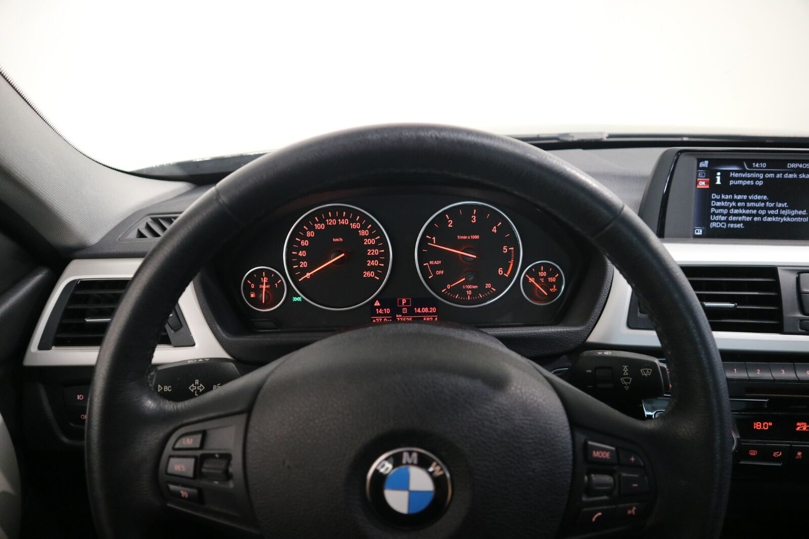 BMW 320d 2,0 aut. - billede 3