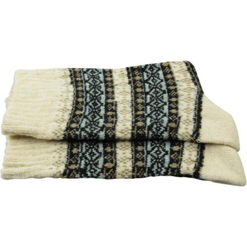 2 Paar cosey dicke Socken – Winter beige 40-45 Baumwolle atmungsaktiv weich