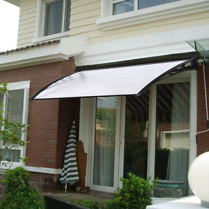 ... Door Canopy Roof Shelter Awning Shade Rain Cover