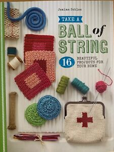 Ball-of-String-Book-16-Projects-Knitting-Crochet-Coiling-Knotting-Cloths-Bag-etc