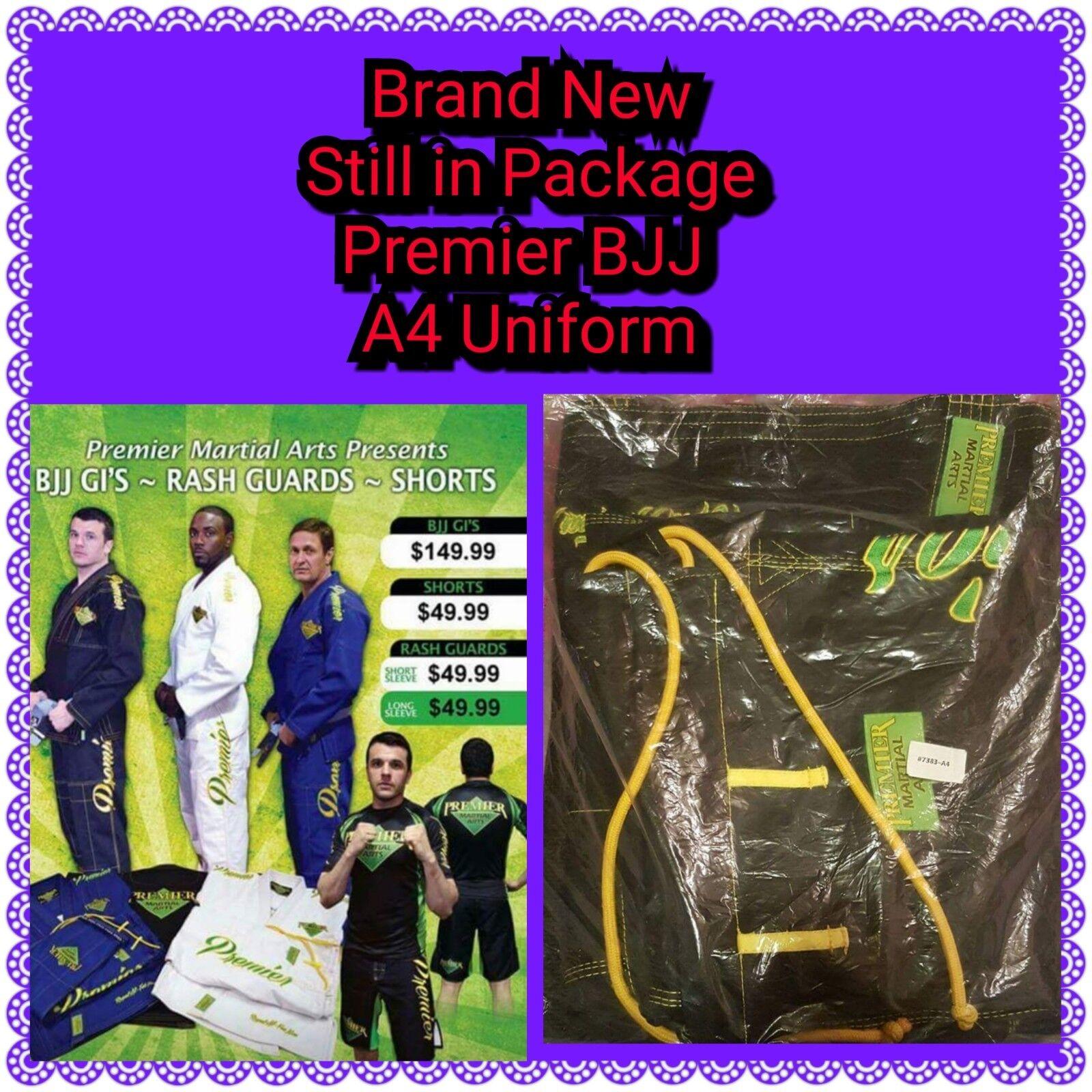 Premier Martial Arts BJJ Uniform Size  A4  80% off