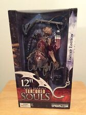 "SIGNED Clive Barker's Tortured Souls 12"" Figure Talisac Sealed New Spawn Limited"