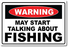WARNING TALKING FISHING - Fish / Fly / Fresh / Bait/ Sport Computer PC Mouse Mat