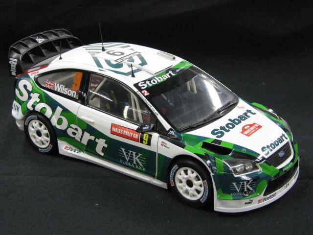 Sun Star Ford Focus WRC 2006 1 18  9 Wilson   Orr Wales Rally GB (MCC)