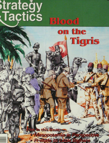 STRATEGY & TACTICS 176 - BLOOD ON THE TIgrey - MINT AND UNPUNCHED