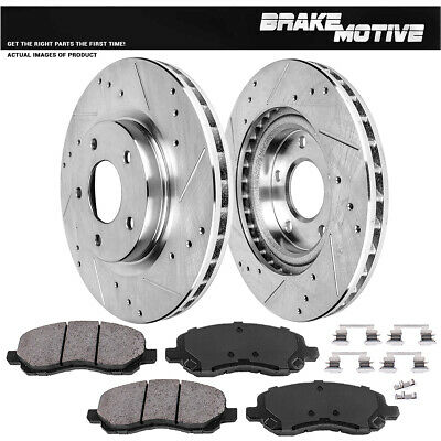 OE Replacement Rotors Ceramic Pads F 2008 2009 2010 2011 Fit Dodge Avenger