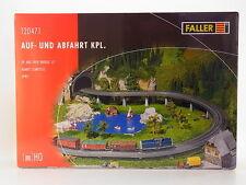 "LOT 11922 | Faller HO 120471 ""Auf- und Abfahrt kpl."" Bridge Set Bausatz NEU OVP"
