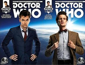 DR WHO 1 10th 11th TENTH ELEVENTH DOCTOR RARE NEWBURY VARIANT SET