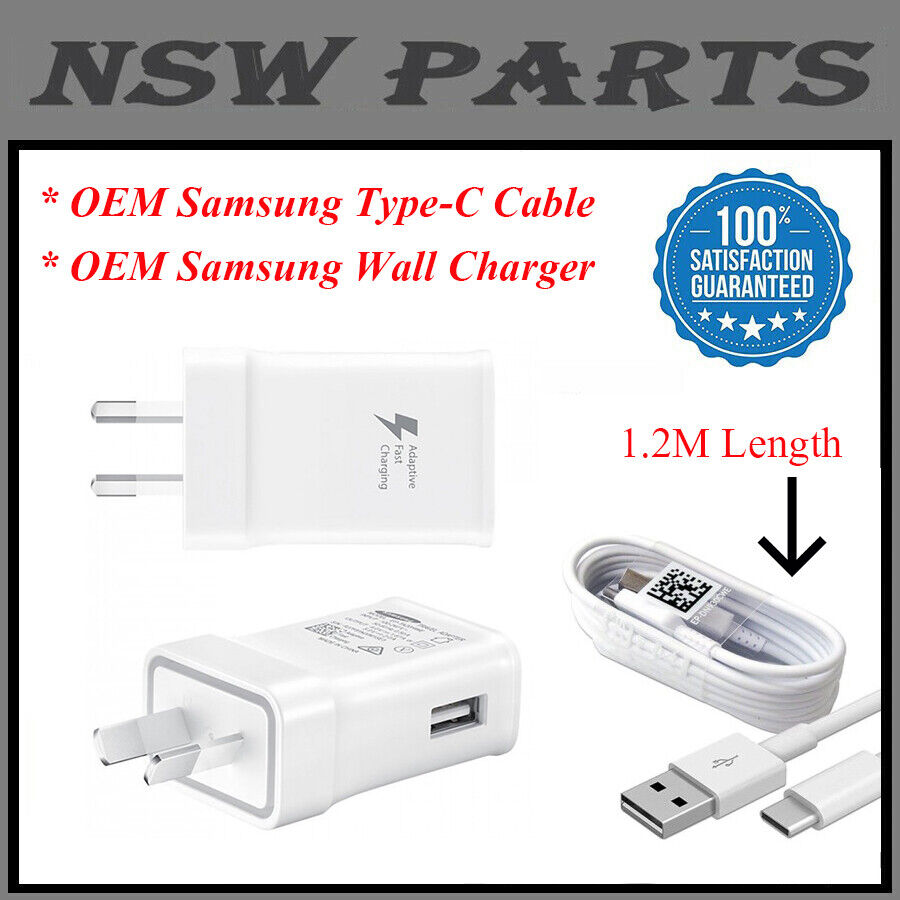 Image 01 - SAMSUNG Adaptive FAST AC Wall Charger For Galaxy S20 S21 S8 S9 S10e Note 10 Plus