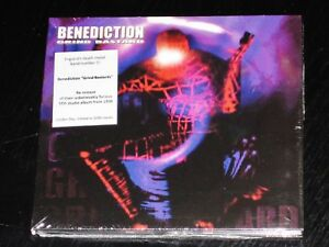 Benedicion-Grind-Bastard-Limited-Edition-CD-2015-Metal-Mind-EU-Digipak-NEW