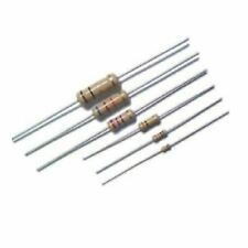 Set Of 100 Pieces Resistor Carbon Film 470 Ohm 14w 025w 5 Axial