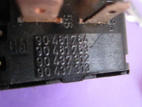 90481764 90481763 90437312 90437313 Opel Corsa B Interruptor de luz
