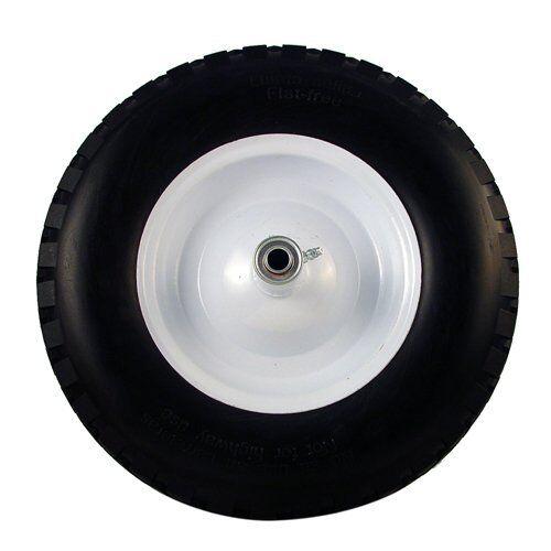Bon Tools 84-714 16  Wheelbarrow Knobby Tread Flat Free Tire & Rim 4.80   4.00 8