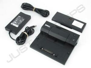 Dell Latitude E7240 Simple Docking Station Port Replicator USB 3.0 w// Spacer