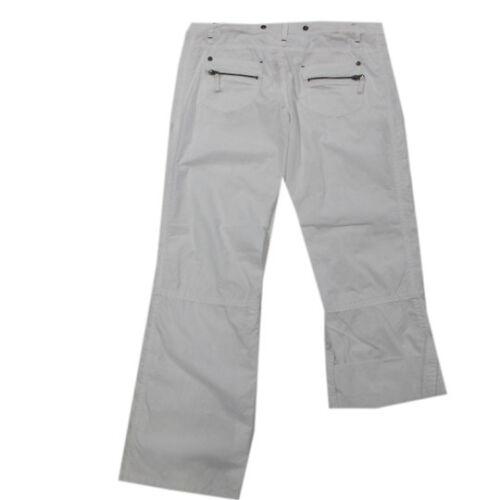 Garcia Hose Sommerhose 7//8-Hose Baumwolle weiß khaki Damen Gr.31,32,33,34,36