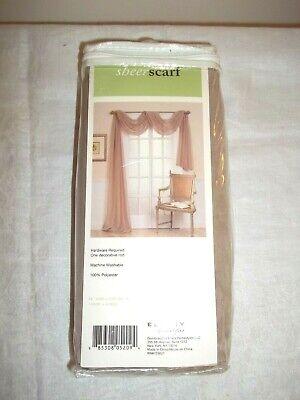 Ellery Homestyles Sheer Scarf Curtain, Ellery Homestyles Curtains