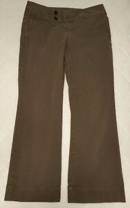 85f62c478 Image is loading Eddie-Bauer-Womens-14-Brown-Dress-Pants