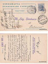 # TREVISO: testatina-TIPOGRAFIA FUNZIONARI COMUNALI - COOPERATIVA TREVIGIANA1921