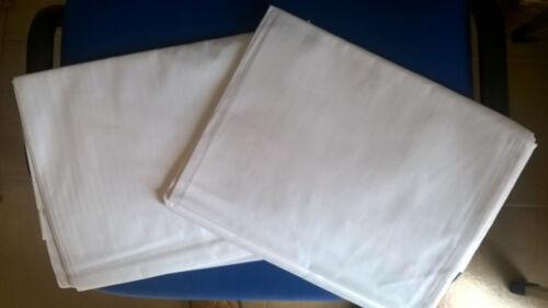 TRAVERSE ANTIDECUBITO (confezioni da 20 pezzi) IN PURO COTONE 100% bianco
