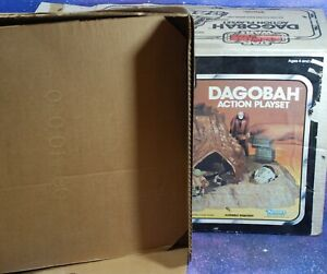 BOX-ONLY-Vintage-Star-Wars-Dagobah-Action-Playset-Empire-Strikes-Back-Kenner