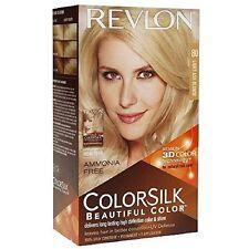 Revlon ColorSilk Beautiful Permanent Hair Color (80) Light Ash Blonde