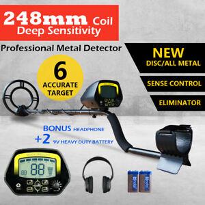 Metal-Detector-Deep-Sensitive-LCD-Screen-Searching-Gold-Digger-Treasure-Hunter
