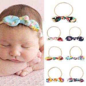 Bohemia-Newborn-Baby-Girl-Bow-Knot-Hairbands-Floral-Headband-Hair-Band-Headwear