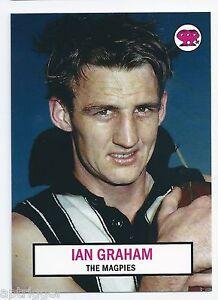 2007 - 1966 Scanlens Archives Portrait Series (P45) Ian GRAHAM Collingwood ****