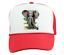 Trucker Hat Cap Foam Mesh African Wildlife Nature Elephant