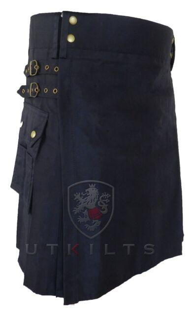 UTKilts Dark Blue Utility Kilt