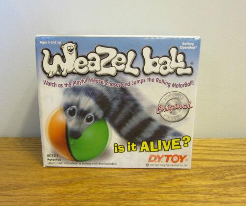 8 NEW ORIGINAL WEAZEL BALLS  TOY WEASEL BALL ROLLING CAT DOG KID TOYS GAG GIFT