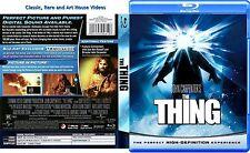 The Thing ~ New Blu-ray ~ Kurt Russell_by John Carpenter (1982)