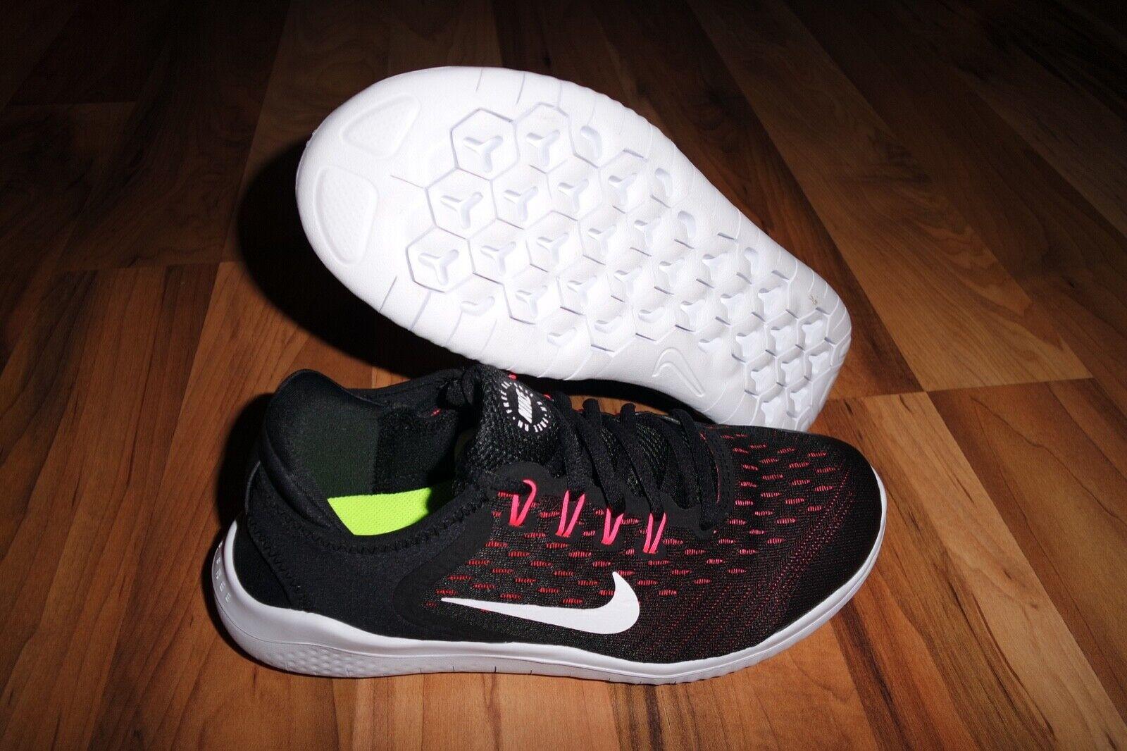 Nike Free rn 2018 (grade-school) para mujeres Niñas Entrenamiento Correr Correr Correr Tenis AH3457-001 5Y 6Y  venta caliente en línea