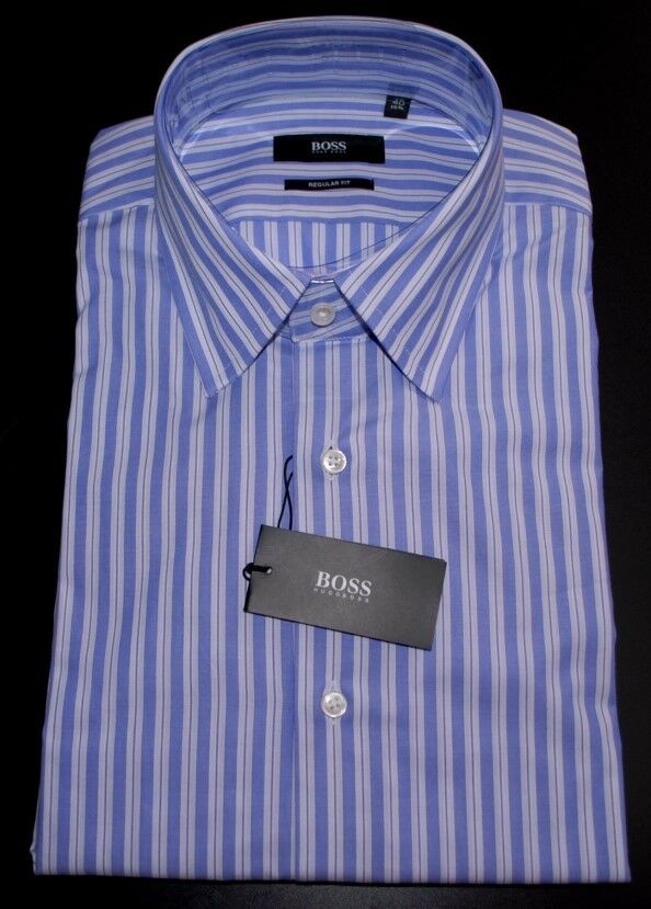 Hugo Boss Herren Hemd REGULAR FIT TIMES KW 40 (15 3/4)  NEU
