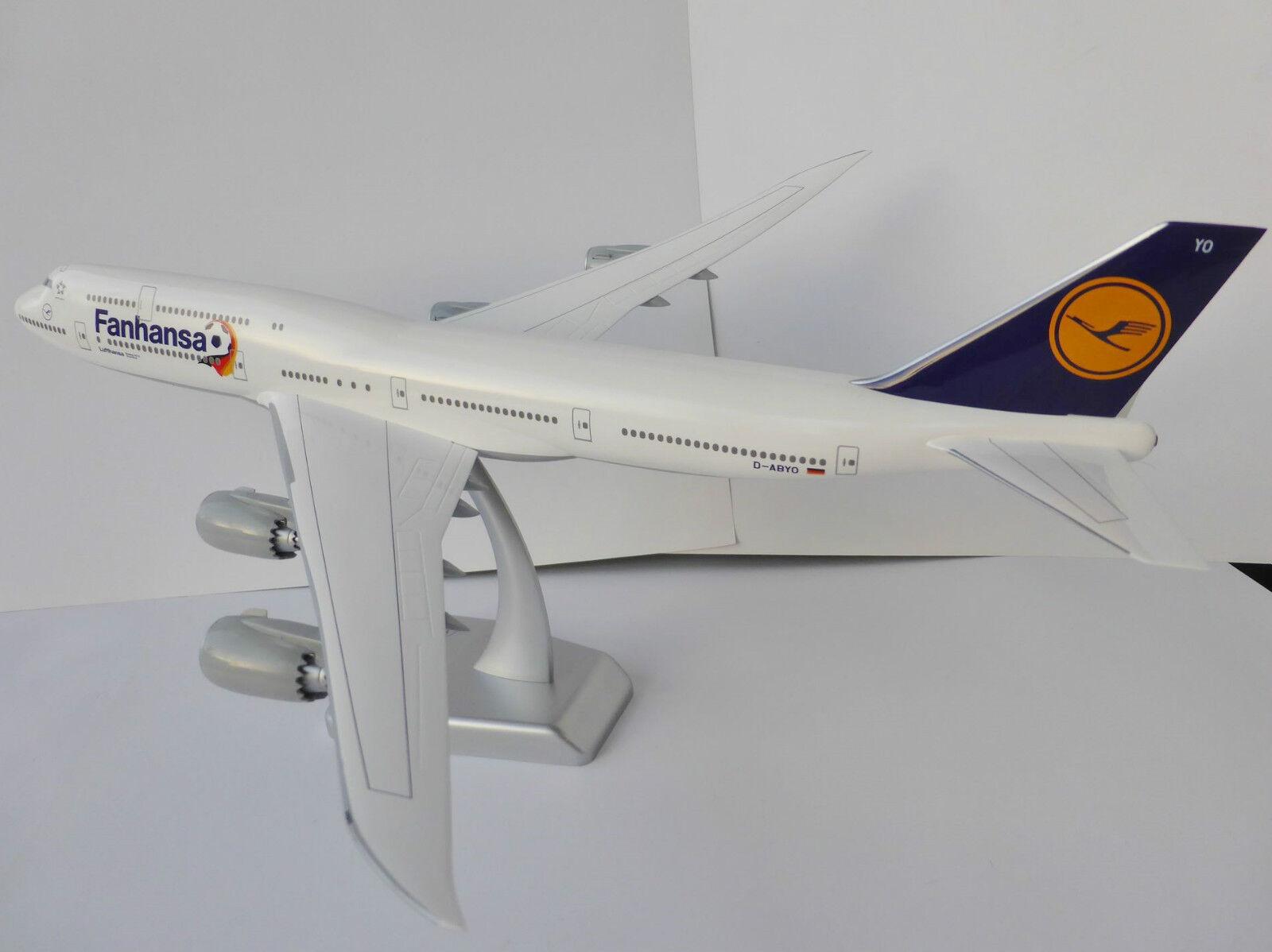 FANHANSA Boeing 747-8 747-8 747-8 LUFTHANSA 1 200 Limox Wings LH30 747 D-ABYO Saarland WM 22bda8