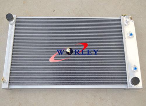 For 70-81 Chevy Camaro Nova//68-73 Chevelle El Camino aluminum radiator 2* fans
