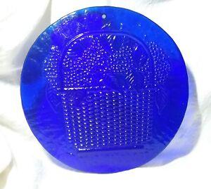Incredible Details About Large Cobalt Blue Art Glass Suncatcher Window Press Mold Flower Basket 9 Caraccident5 Cool Chair Designs And Ideas Caraccident5Info